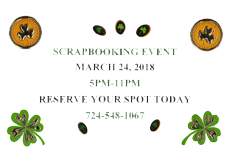 Scrapbooking Event