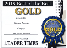 Leader Times Gold Award 2019